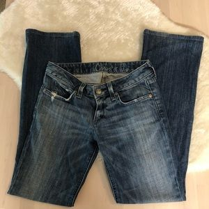 Chip & Pepper Flair Low Rise Jeans, Size 25